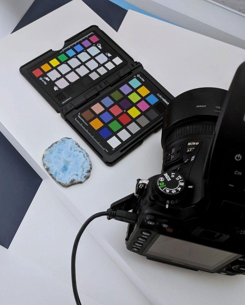 CONLIGHT Farbkalibrierung Produktfotos Larimar 1 – CONLIGHT