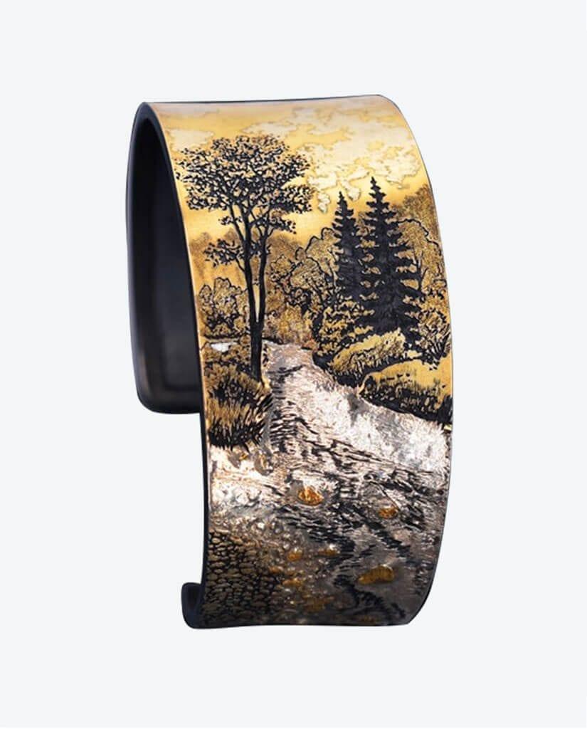 CONLIGHT_Schmuck_Armreif_Armband_Gold_Silber_Wolfgang-Vaatz_Edelstein_Designer